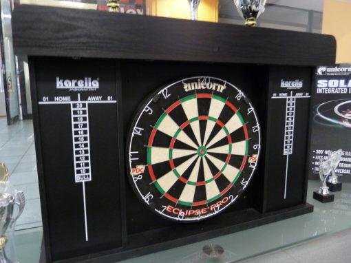 Dartboard LED Kabinett